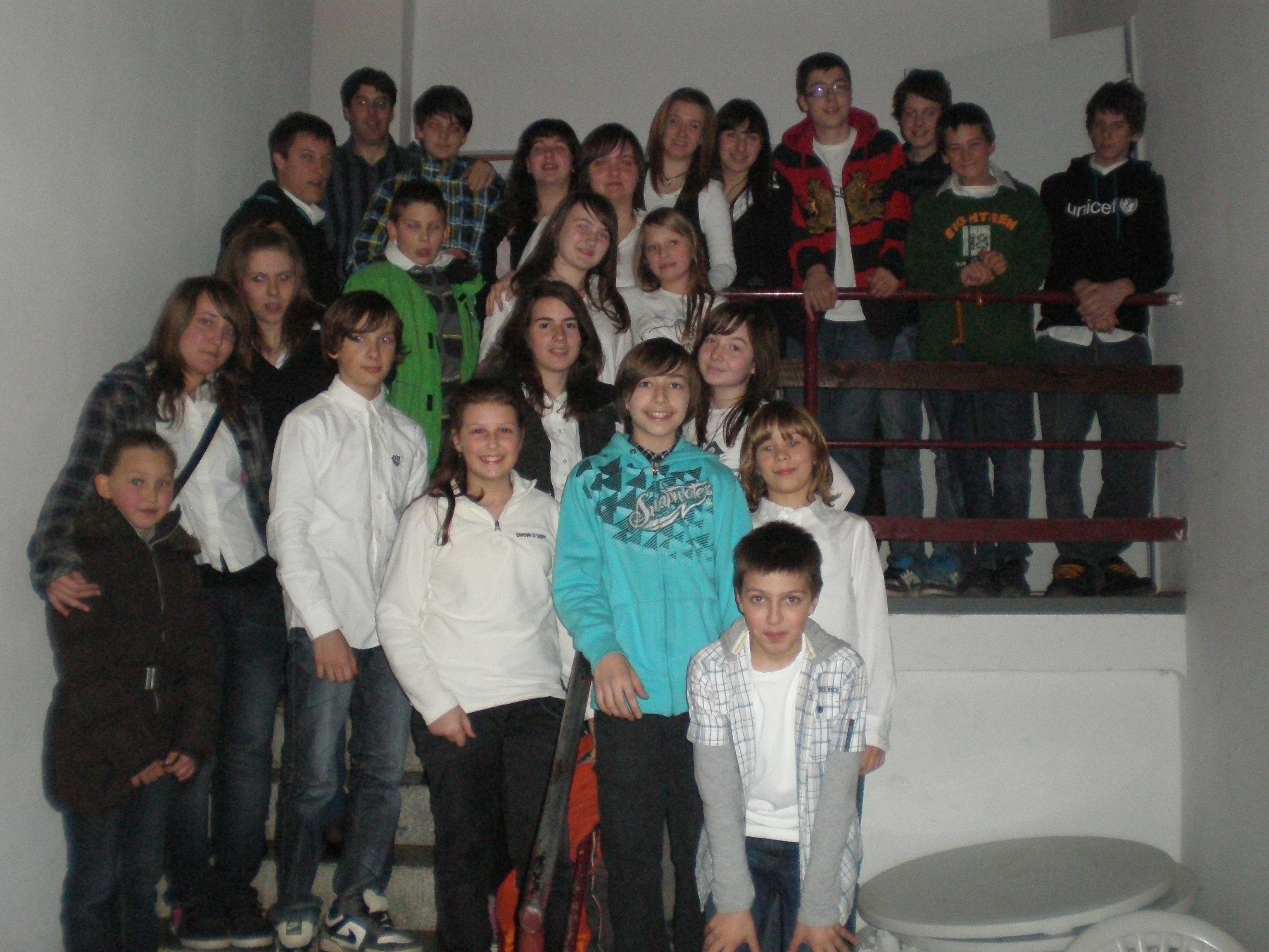 Učenci GŠ Vogrsko (2011)